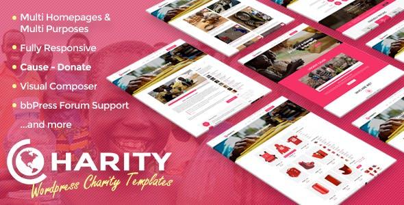 Charity - Responsive WordPress Theme