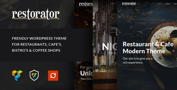 Restorator - Restaurant & Cafe WordPress Theme