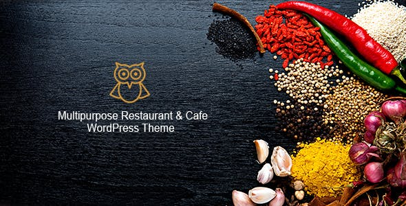 OWL - Multipurpose Restaurant & Cafe WordPress Theme