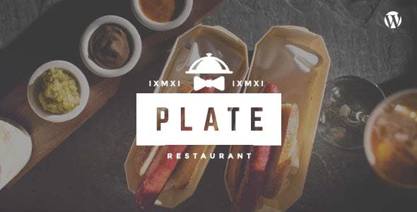 Plate - Fine Dining Restaurant, Bar & Cafe WordPress Theme