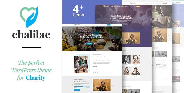 Chalilac - WordPress Charity Theme