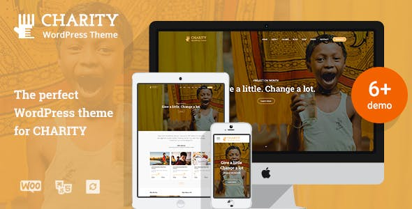 Charity WordPress Theme | Charity WP