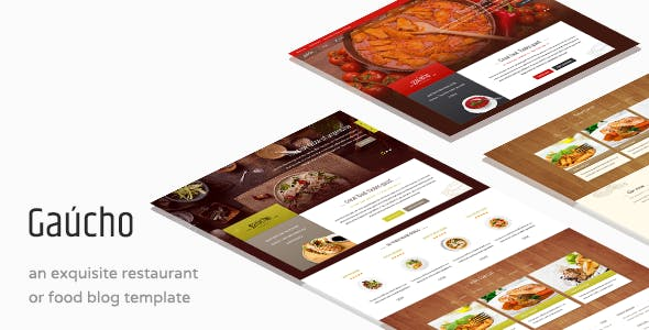 Gaucho - Food & Restaurant WP Theme