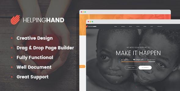 HelpingHand - Charity / Non-Profit WordPress Theme