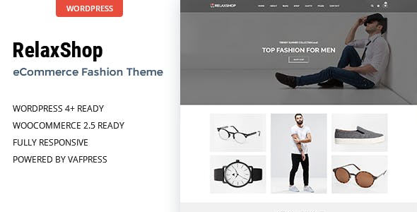 Relaxshop - Fashion WooCommerce WordPress Theme