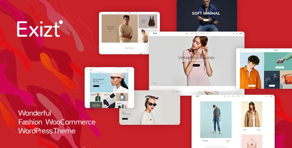 Exizt - Fashion WooCommerce WordPress Theme