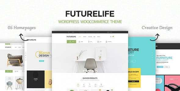 Futurelife – Responsive WordPress Woocommerce Theme