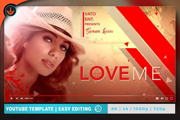 Love Me YouTube Video Artwork