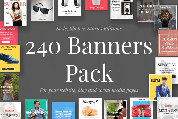240 Banners Pack