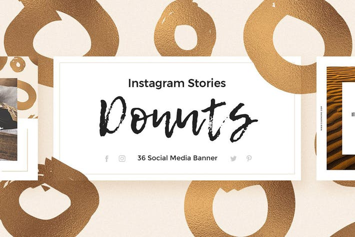 Donuts - Instagram Stories Pack