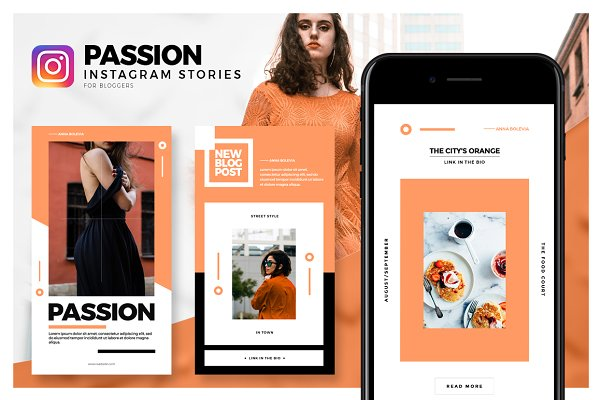 Passion - Instagram Stories Pack