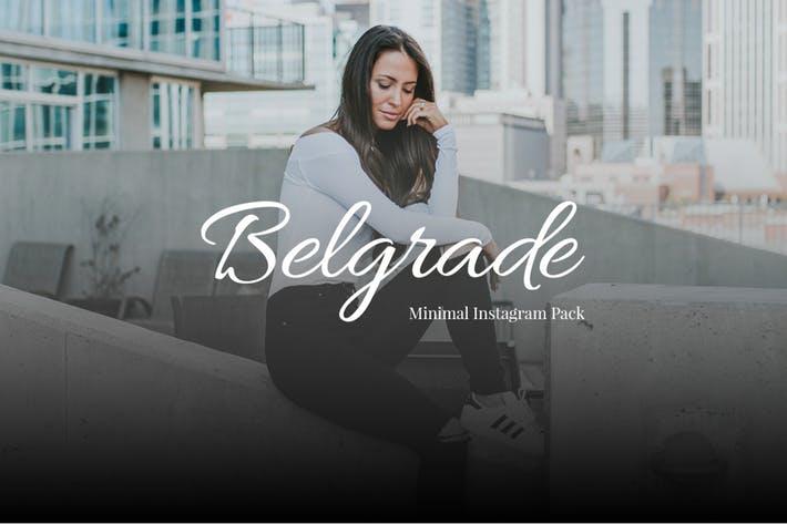 Belgrade Minimal Instagram Pack