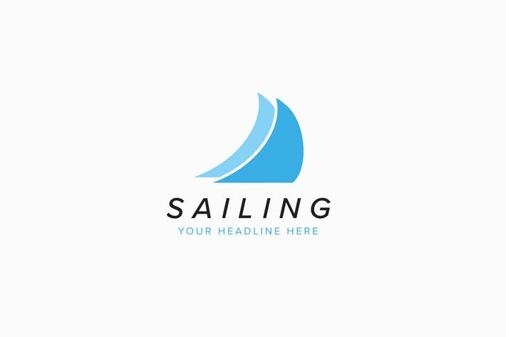 Sailing Logo Template