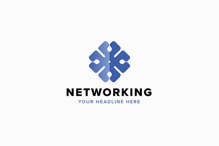 Networking Logo Template