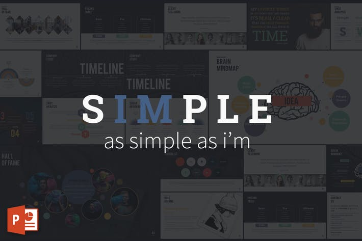 SIMPLE - Powerpoint Presentation Template