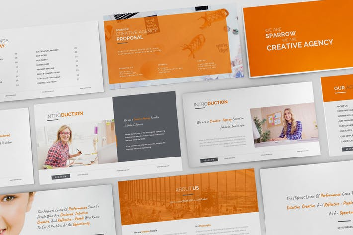 Sparrow - Creative Agency Powerpoint Presentation