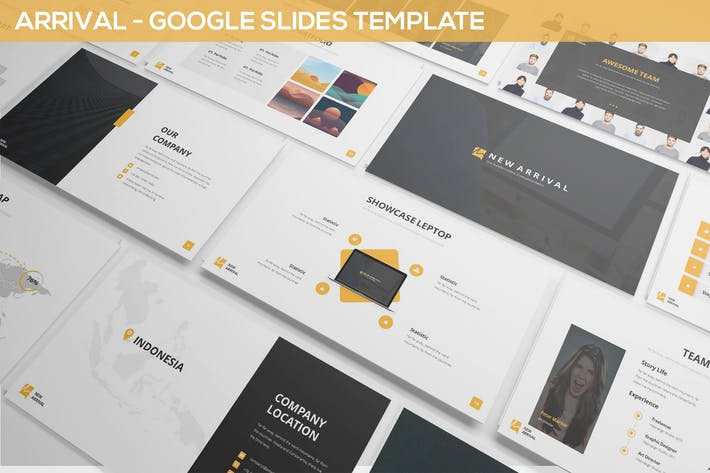 Arrival Google Slides Simple Theme