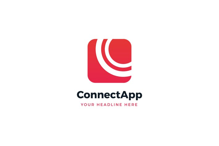 Connect App Logo Template