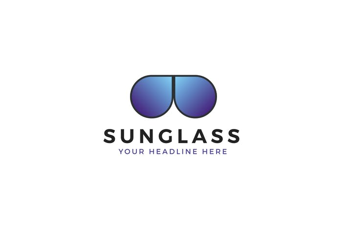 Sunglass Logo Template