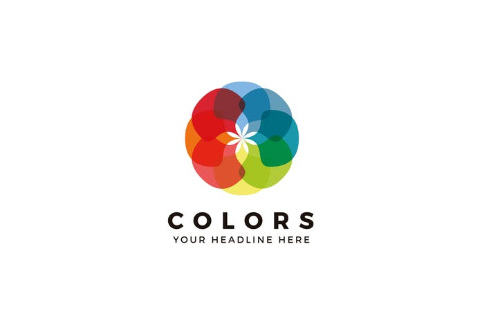 Colors Logo Template