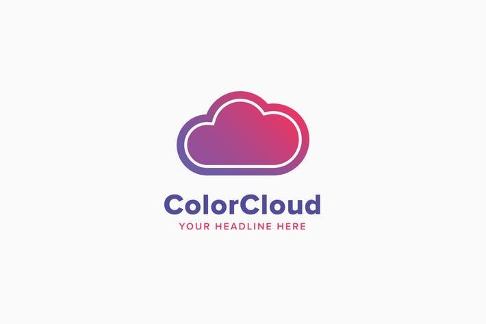 Color Cloud Logo Template
