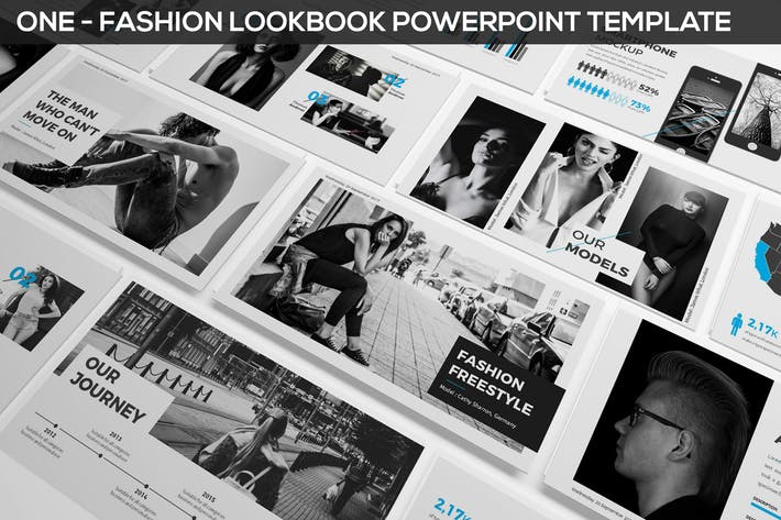 ONE - Fashion & Photography Presentation Template