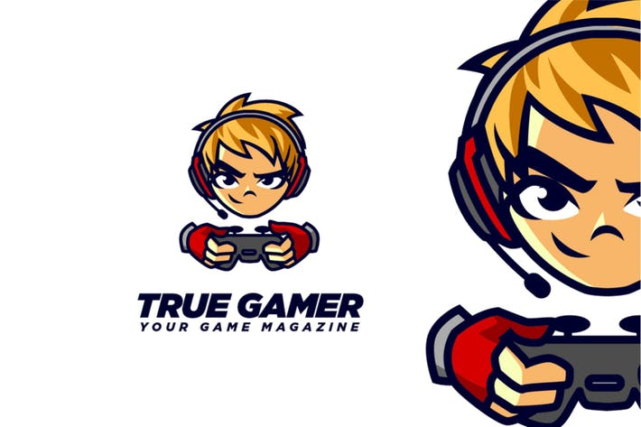 Gamers Character Logo
