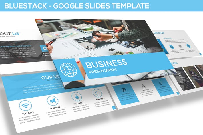 Bluestack - Google Slides Template