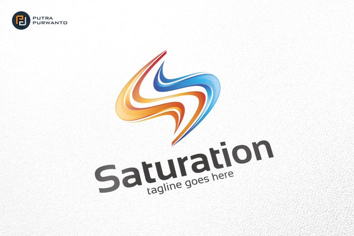 Saturation / S Logo - Logo Template
