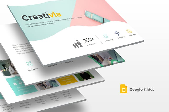 Creativia - Google Slides Template