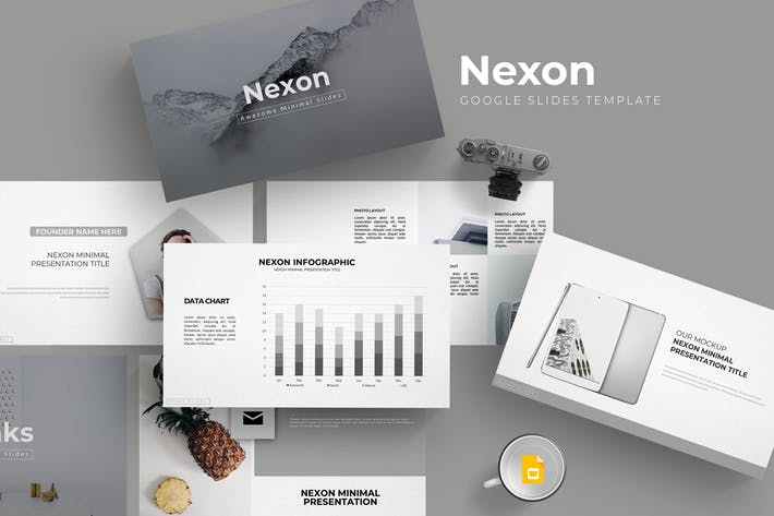 Nexon - Google Slides Template