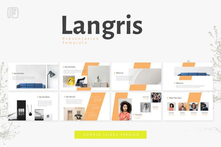 New New Langris Google Slides Template