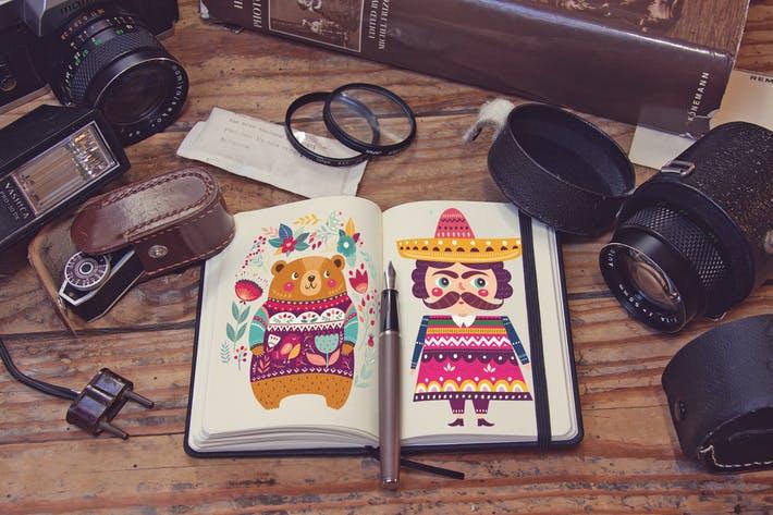 Pocket Notebook Diary