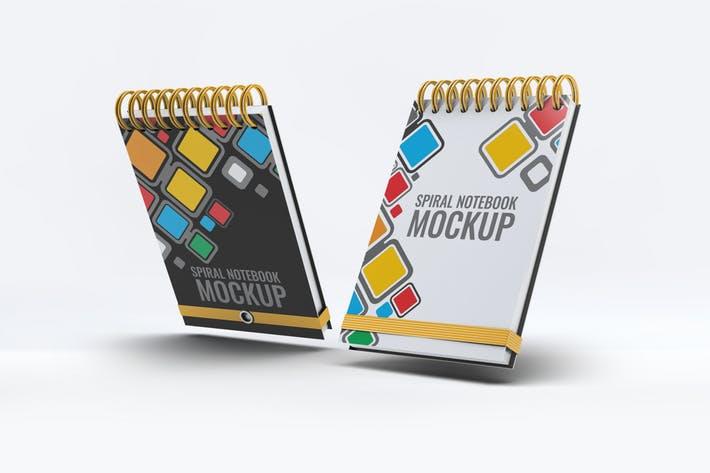 Spiral Notebook Mock-Up v.1