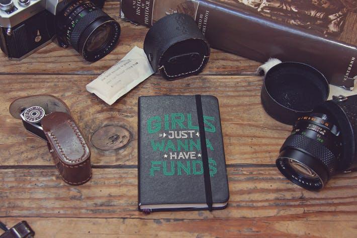 Pocket Notebook Black