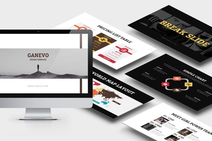 Ganevo : Creative Studio Google Slides