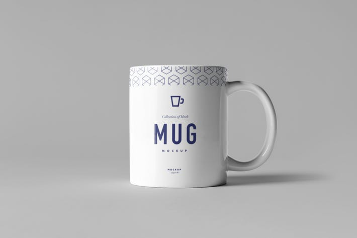 Mug & Box Mock-up
