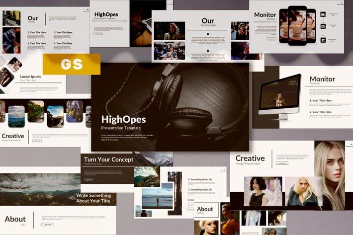 Highopes Google Slide