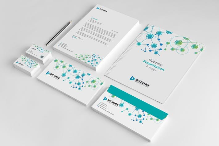 Business Stationery Template 19
