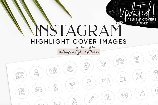 80 Best Instagram Highlight Icon Sets For Personal Branding Layerbag