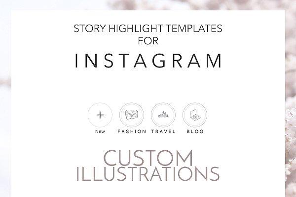 CUSTOM ORDER Instagram Highlights