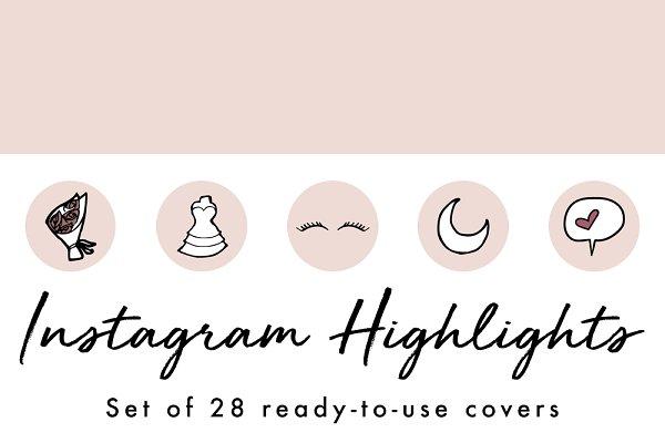 28 Instagram Stories Highlight Icon…