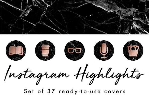 37 Instagram Story Highlight Covers