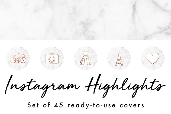 45 Instagram Story Highlight Covers