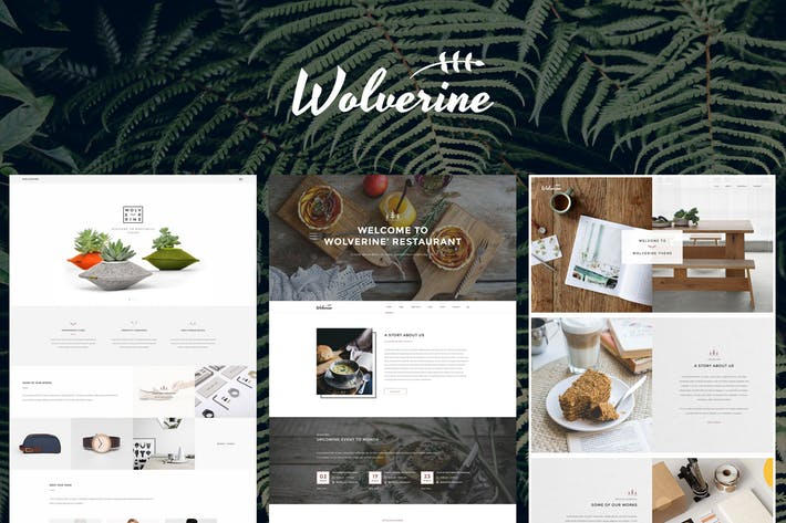 Wolverine - Multipurpose Website Templates