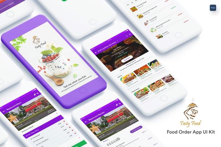 Tasty Food-Online Food Order Mobile App UI Kit