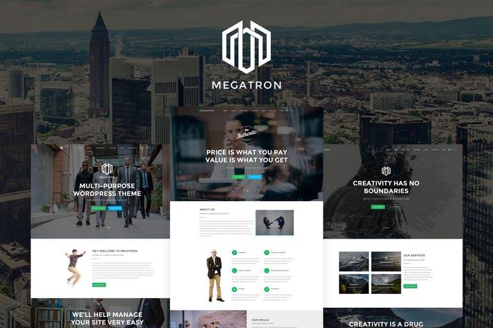 Megatron - Website Templates