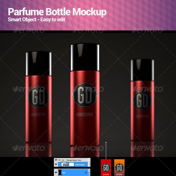 Parfume Bottle Mockup