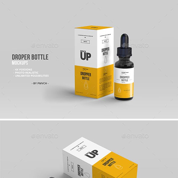 Dropper Bottle Mockups 01