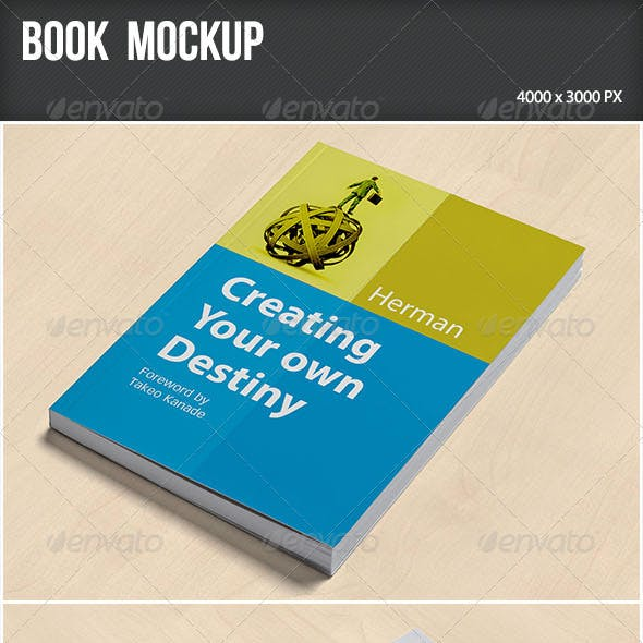 Book Mockup 3